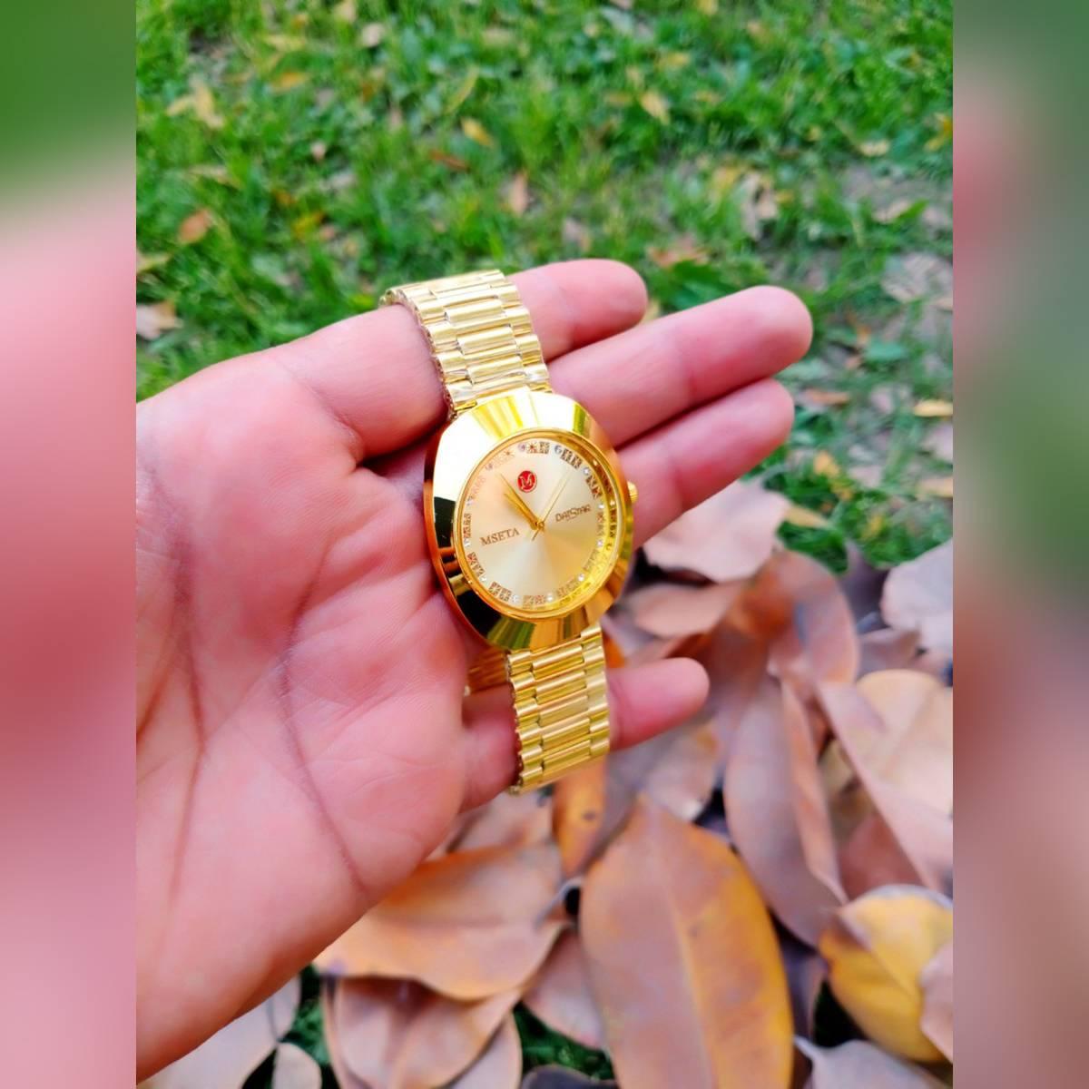 Luxury Gold Men's Wrist Watch Tourbillon Mechanical Waterproof Watch Gift For Family & Friends