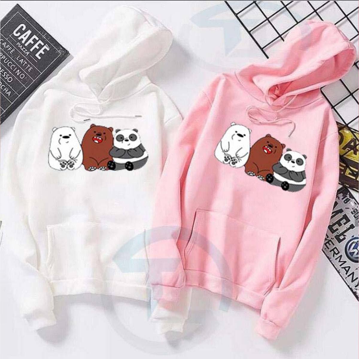 Hoddie for girls new and stylish design, ,Winter Wear ,Export Quality , Round Neck