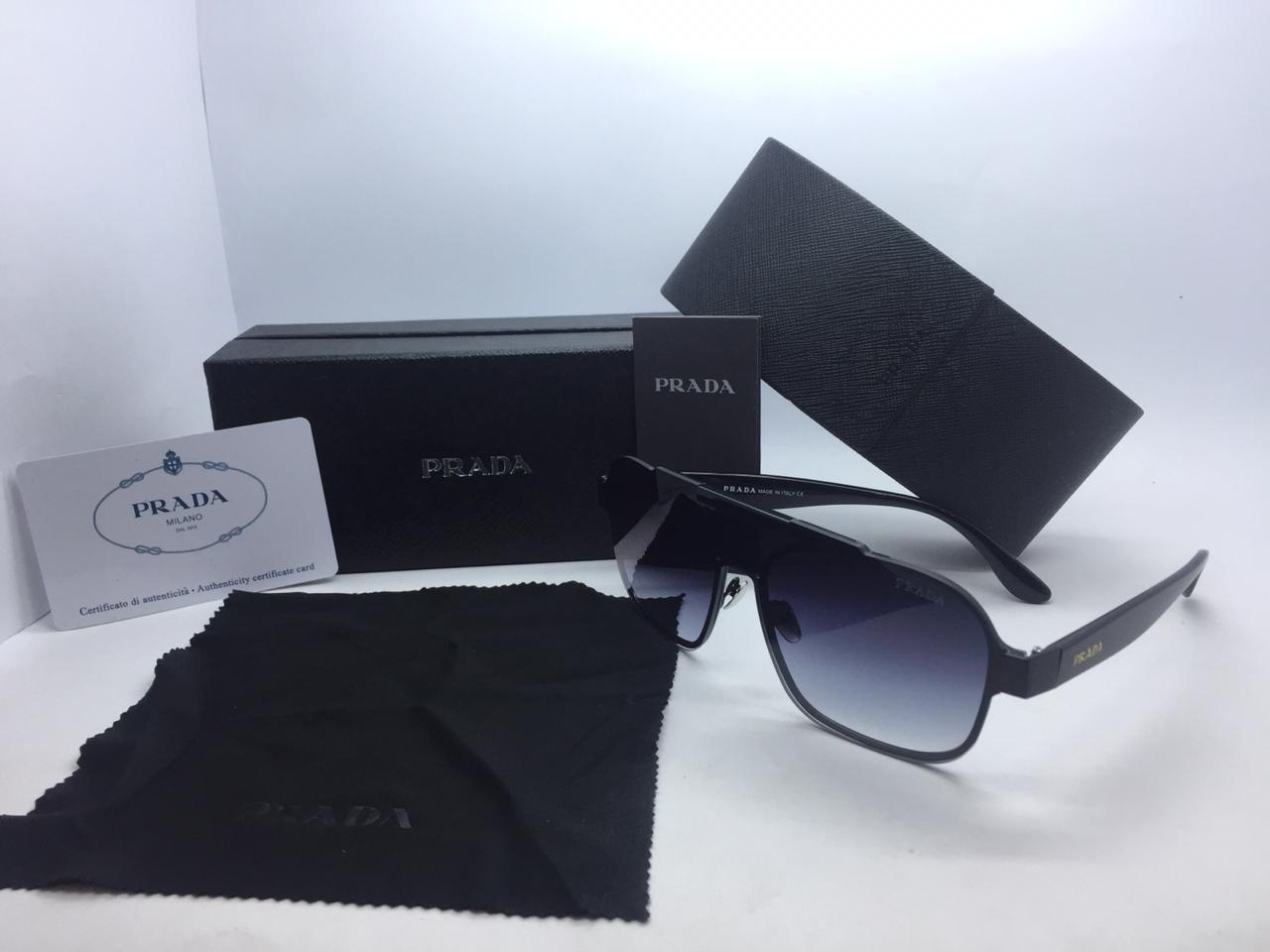 02cf12cb25 Prada Linea Rossa Black Sunglasses For Women  Buy Online at Best Prices in  Pakistan