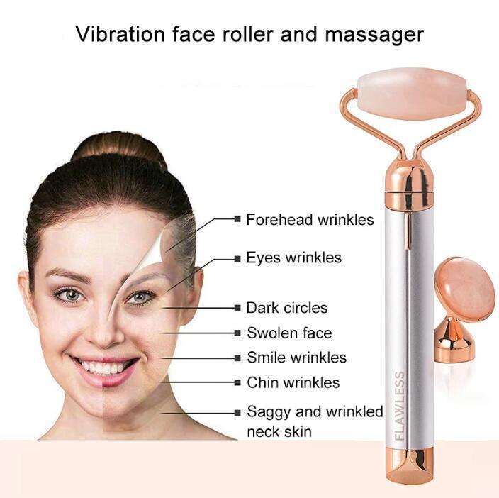 Finishing Touch Flawless Vibrating Facial Roller & Rose Masager: Buy Online  at Best Prices in Pakistan | Daraz.pk
