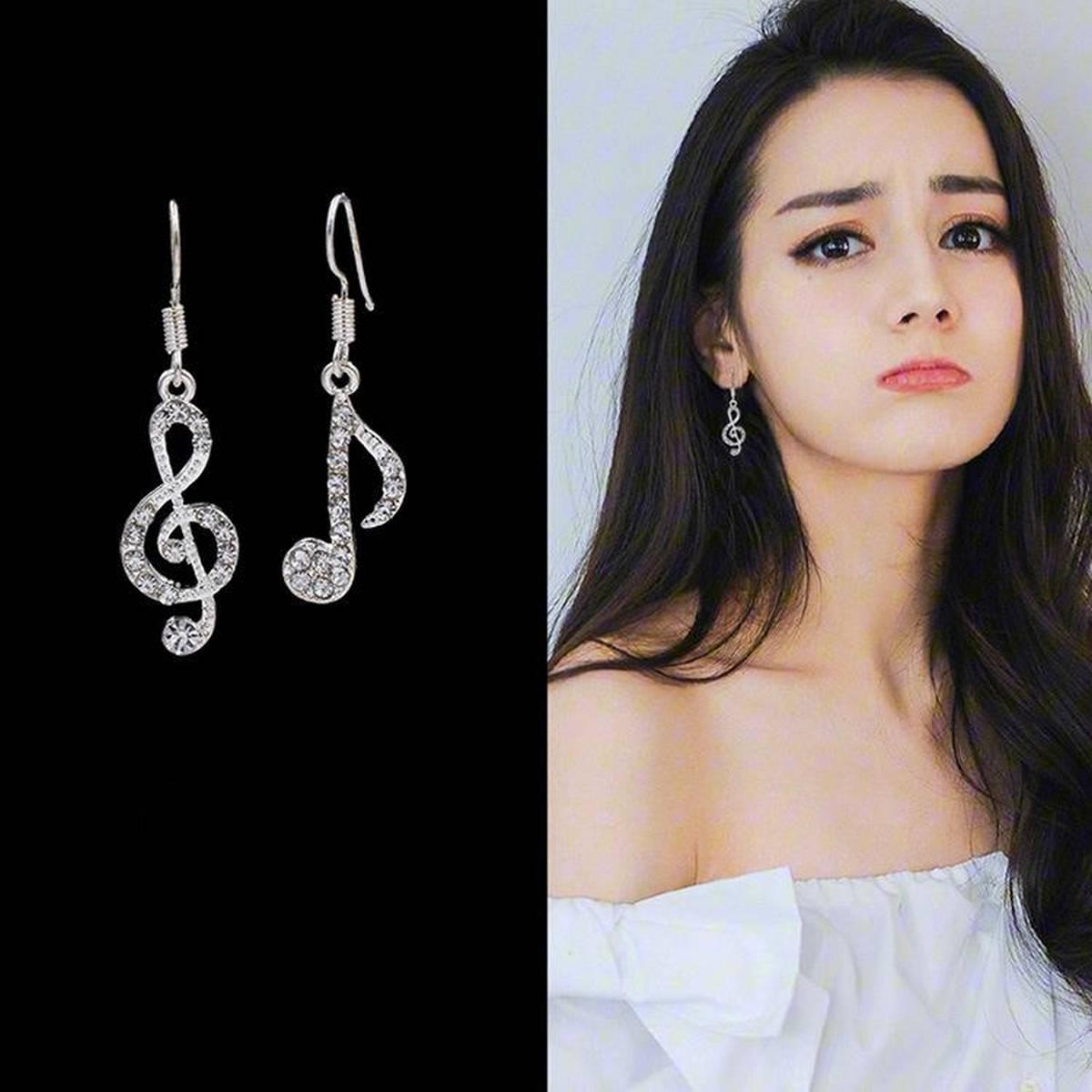 Kaytlins Musical Shape Earrings For Girls  - New Arrivals