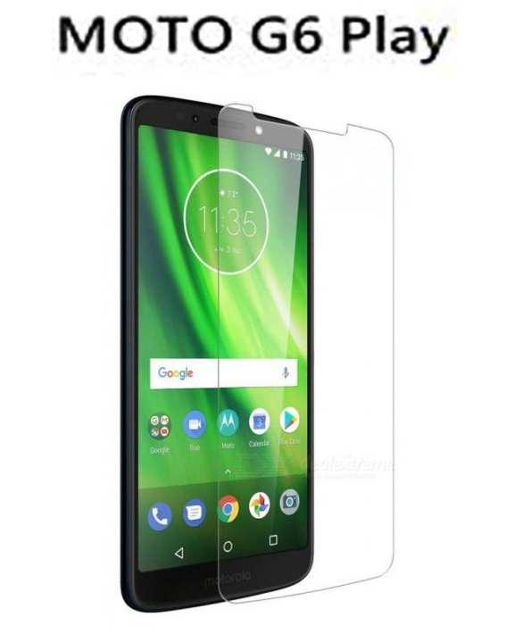 Motorola Moto G6 Play - Protective Tempered Glass - Screen Protector