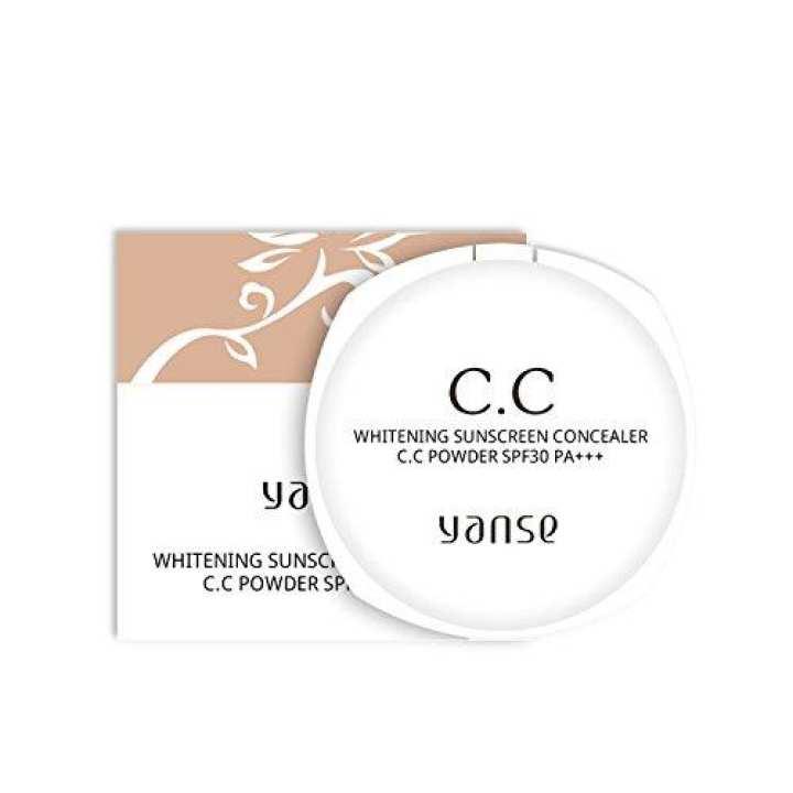 Yanse Whitening Sunscreen Concealer C.C Powder SPF 30 PA+++ (A1)