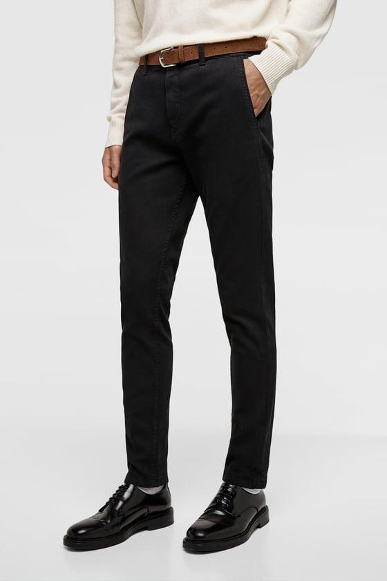 1b0b5b2b7a65 Zara Men Original 100% Cotton Chino Pant For Men