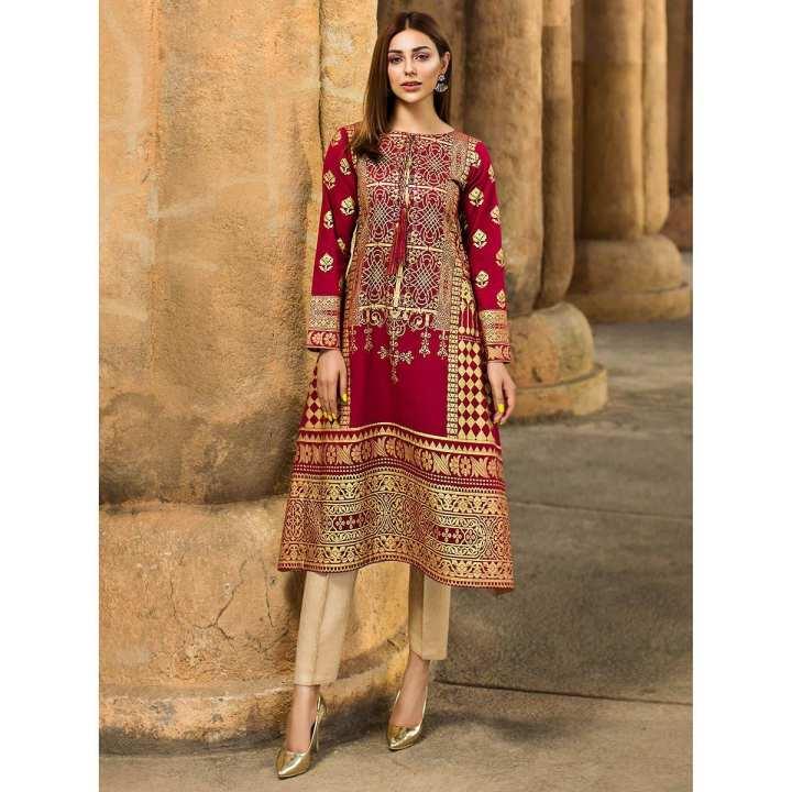 LimeLight Royal Charm Pink Unstitched Lawn Shirt Eid Collection Vol 2 -U0747-SSH-PNK