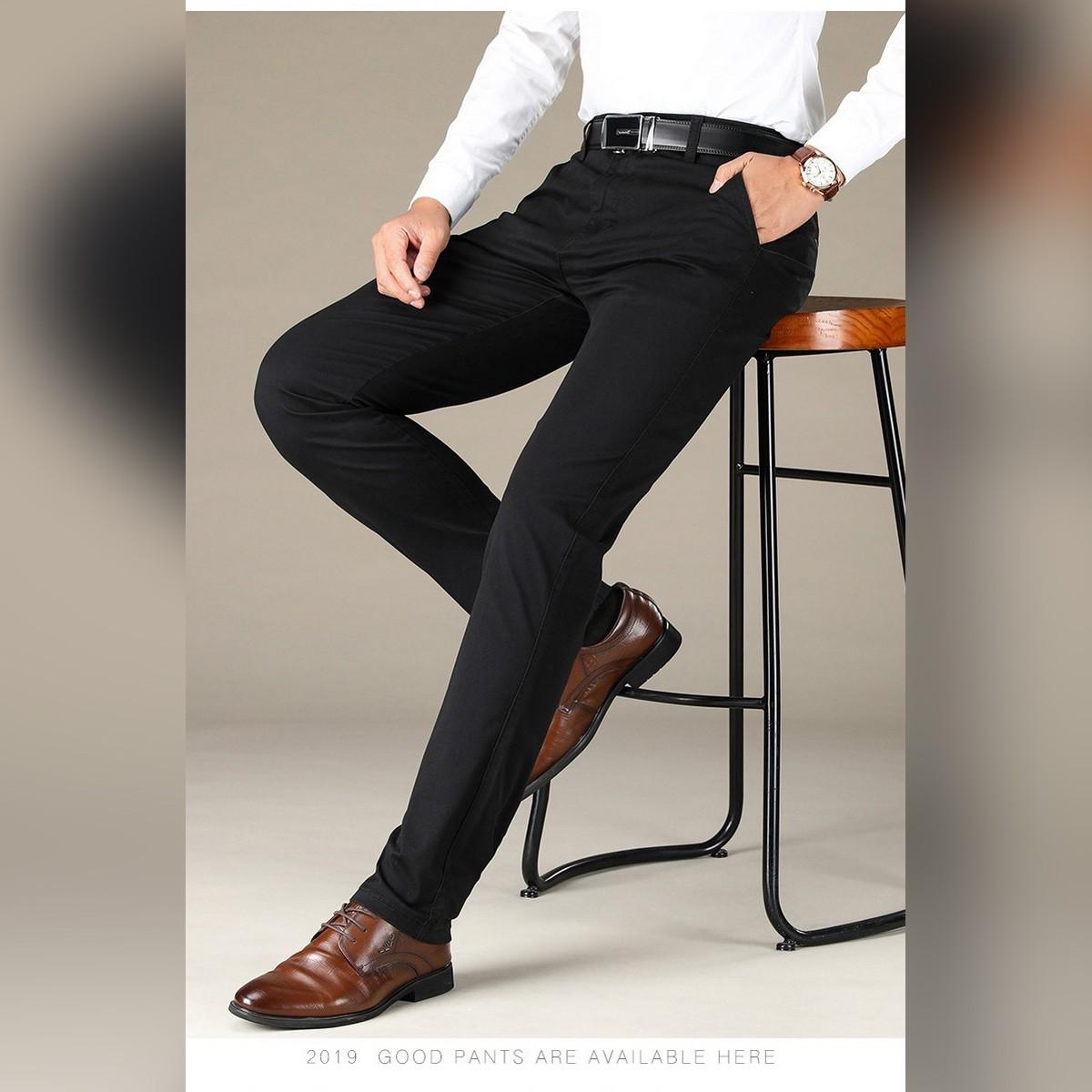Cotton Jeans Black Pant for men - Soft Cotton Jeans