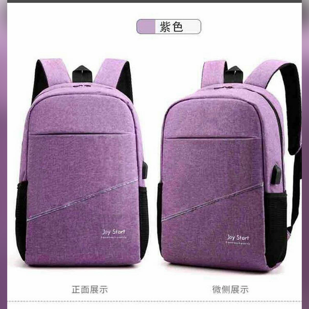 Purple bag for Man and girls