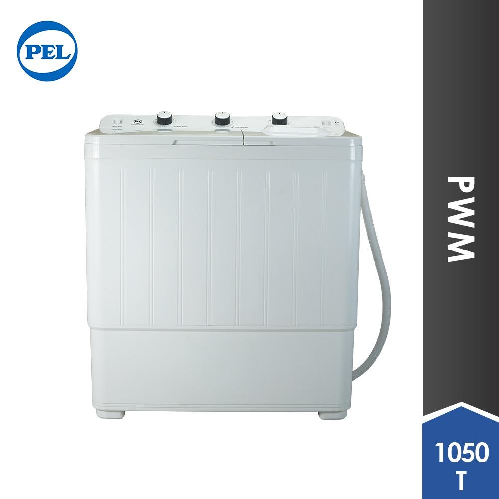 Pel Washing Machine Twin Tub Semi Auto 1050t
