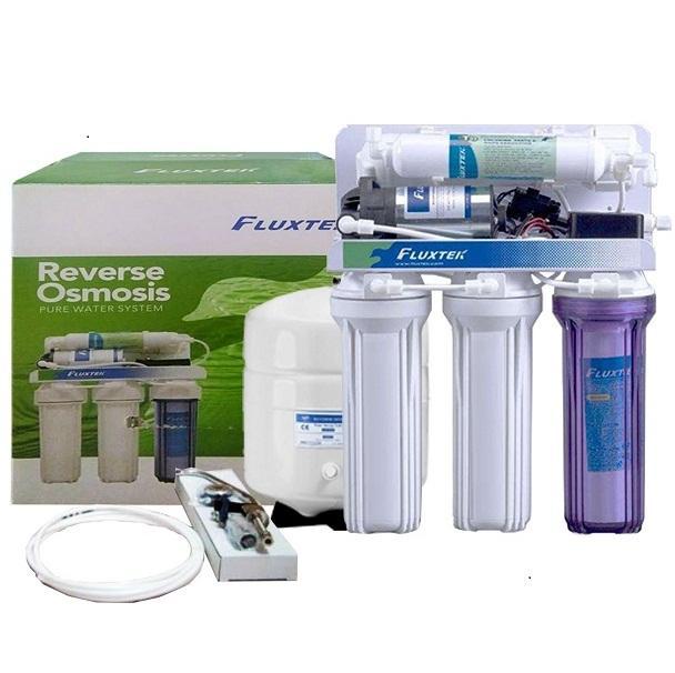 Fluxtek RO Water Purification System Purification System 5-Stage Water  Filter RO Fluxtek Taiwan - White