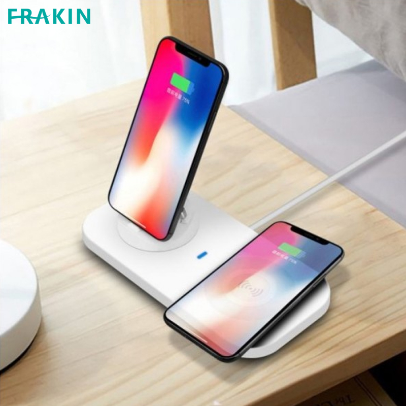 FRAKIN 4 in 1 Fast Charger Pad Multi-angle Charging 10W Fast Charging For All Mobile Support