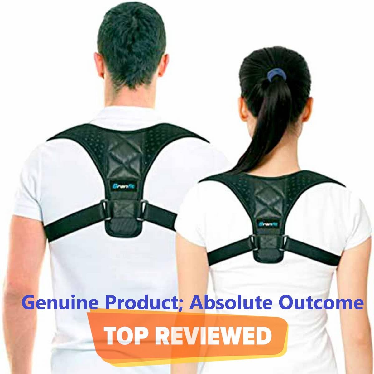 Posture Corrector Belt For Men & Women Adjustable - Back Posture Belt - Back Brace