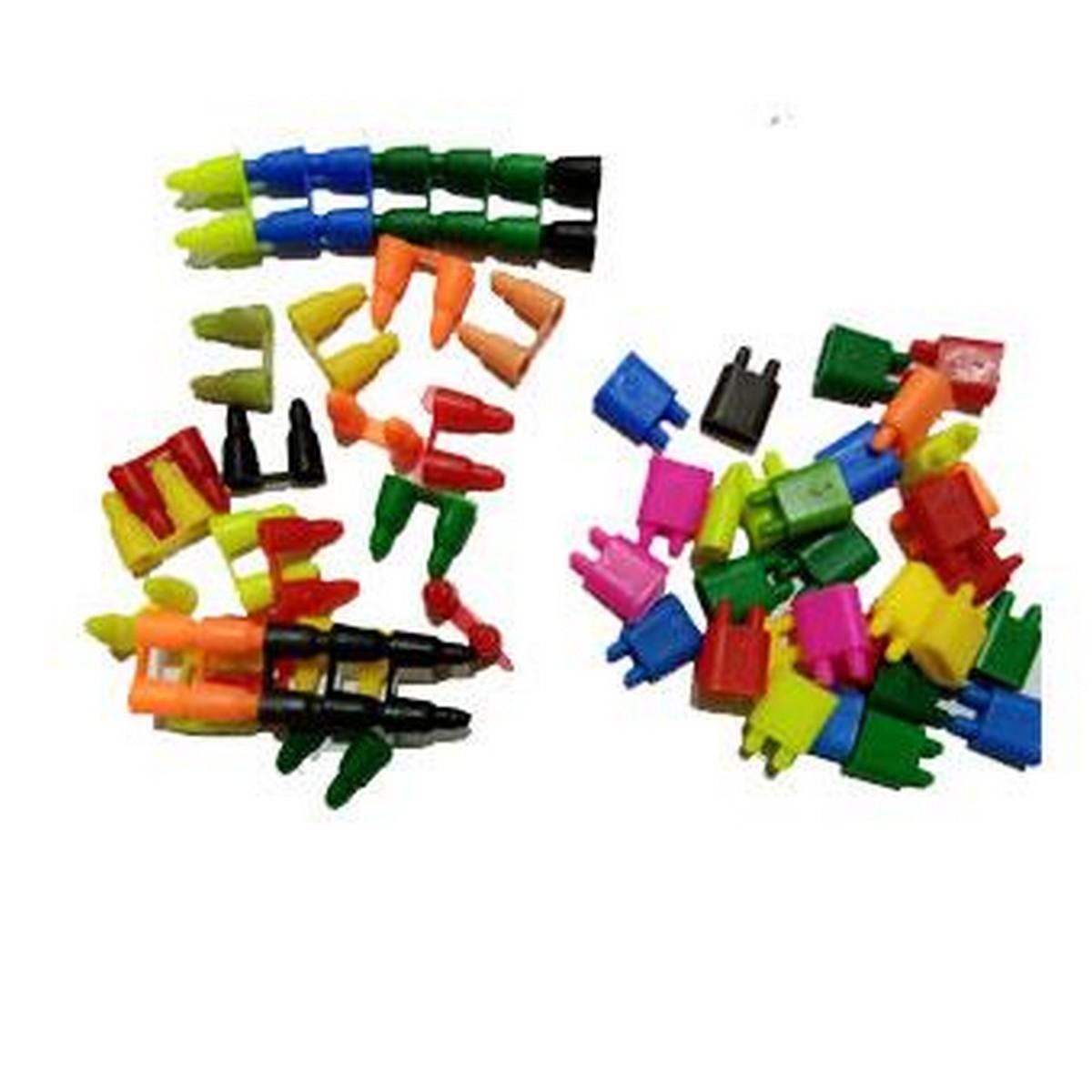 60 Pcs Mini 2cm Building Blocks For Kids