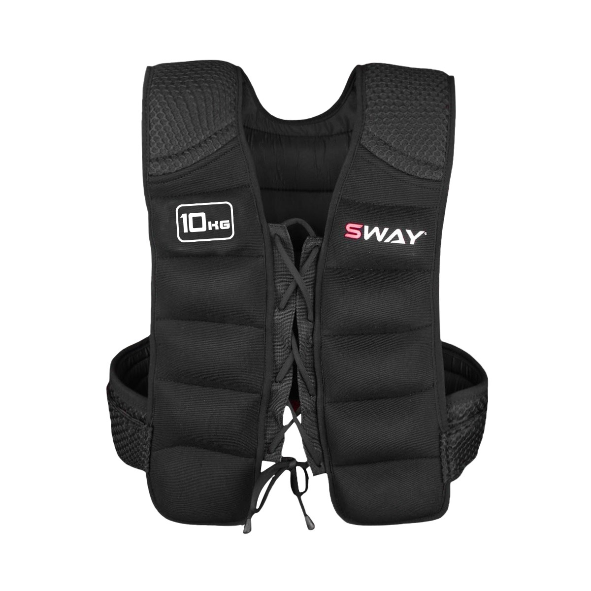 SWAY WEIGHTED VEST 10KG,  Weighted Jacket, Workout, Gym Wears, Core and abdominal Trainers, Weighted Equipment, Running Jacket