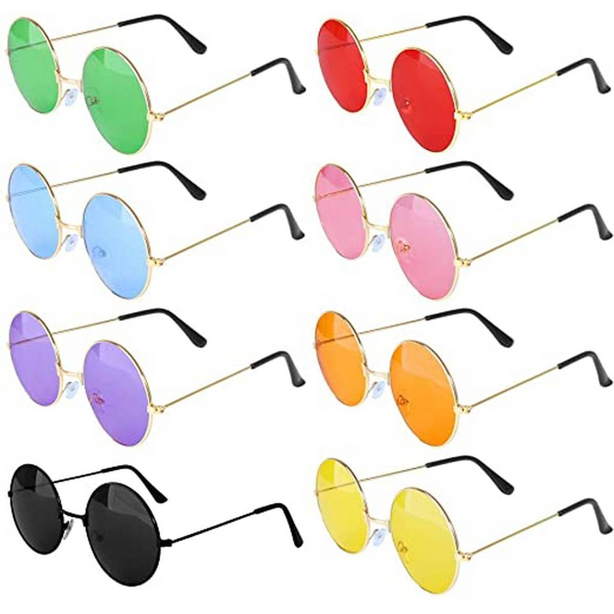 Vintage Round Polarized Hippie Sunglasses Small Circle Round shaped Sun Glasses Shades for men and women