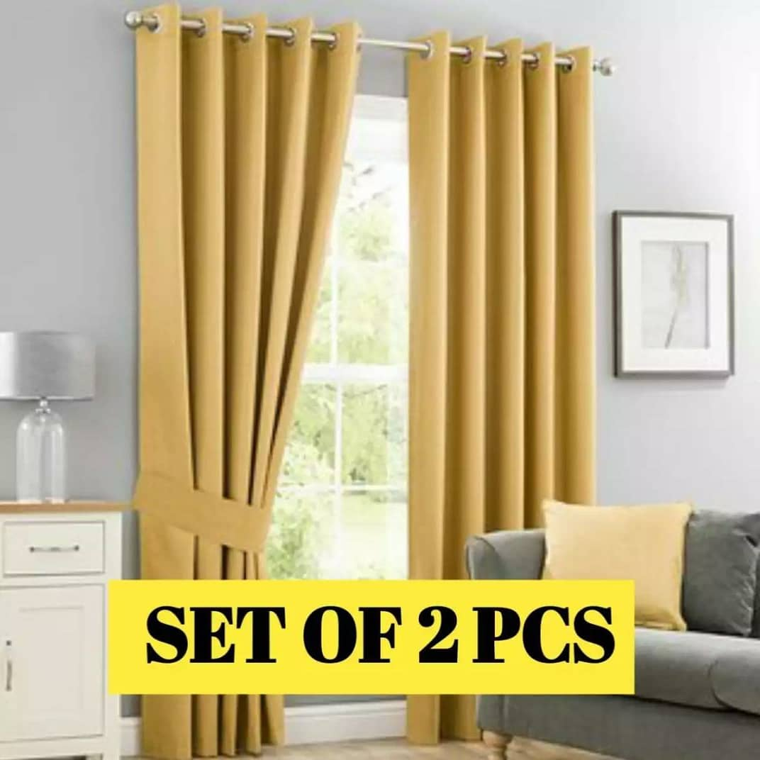 WINDOW SUNSHINE BLOCK, DUST/WATER PROOF BLACKOUT CURTAINS 66 X 72 SUMMER COLLECTION (PAIR)