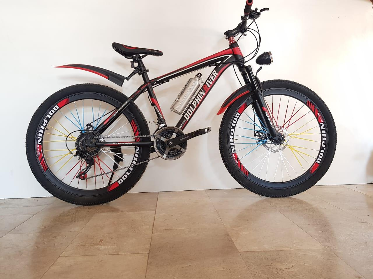 599354595d3 DOLPHIN RIVER Mountain Bike Latest 2018 Listed, Comfortable Seating with 22  Speeds and 26'