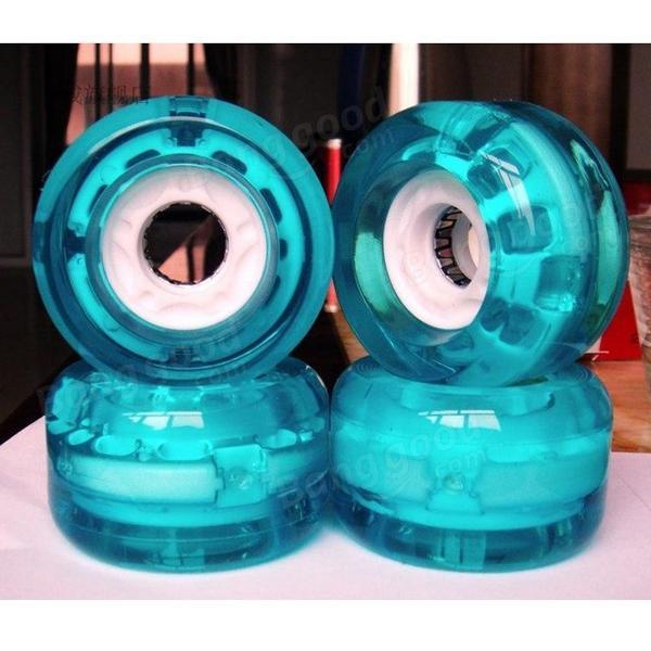 Freeline Skate Drift Skate Wheels Blue Flashing Wheels