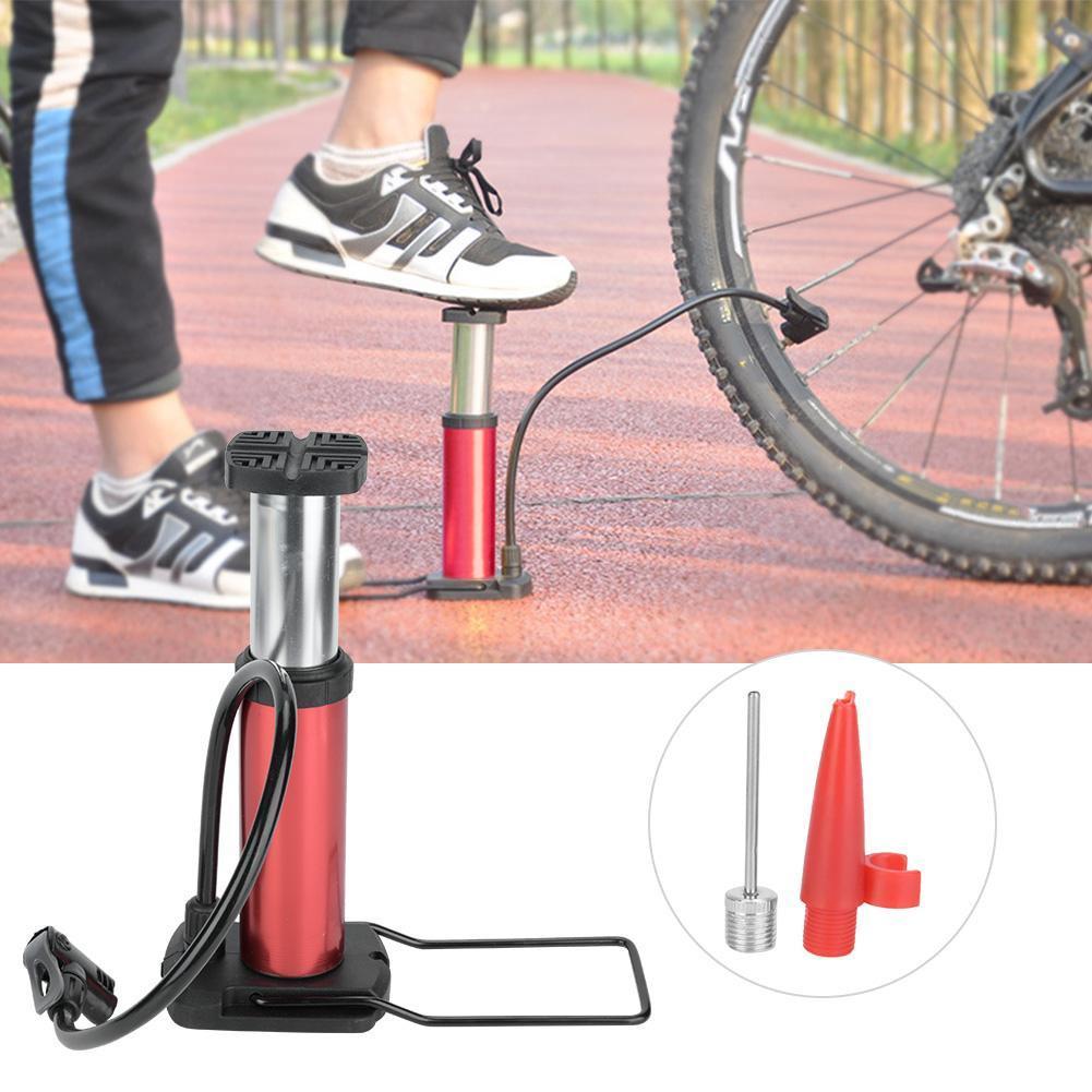 Portable Mini Foot Air Pump for Bicycle, Bike, Car and Football Hand Ball Inflator