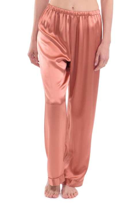 Copper Moon Silk Sleepwear Trousers Pants For Women. SD-683