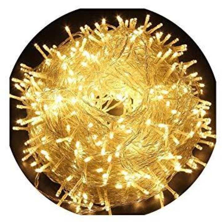Fairy Lights Decoration Led Still - 25 Feet Long - golden