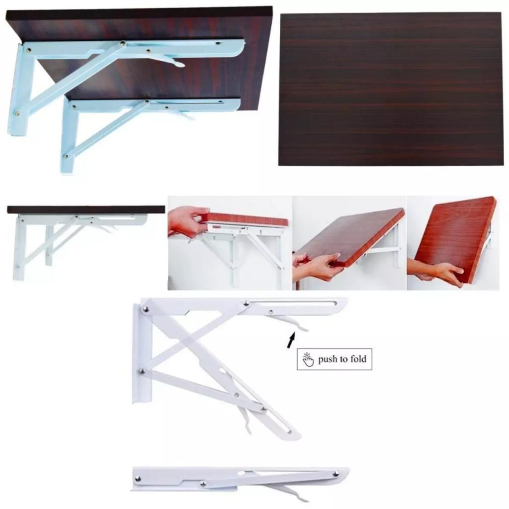 Foldable Wooden Wall Mount Laptop Table