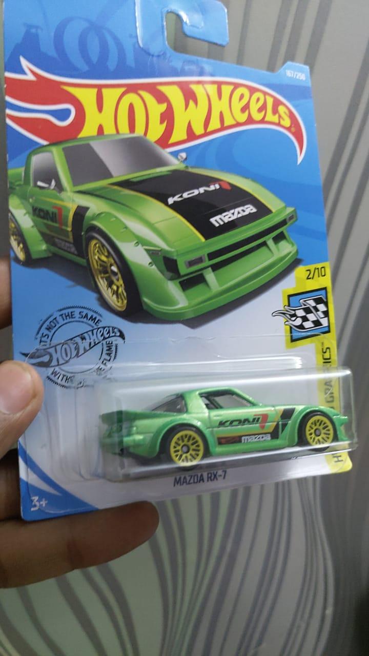Hot Wheels Mazda RX-7, Diecast 2020