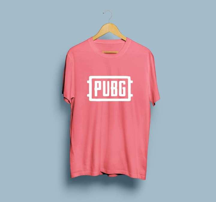 PUBG Casual Style Cotton Pubg T-Shirts For Men Seven Color Available