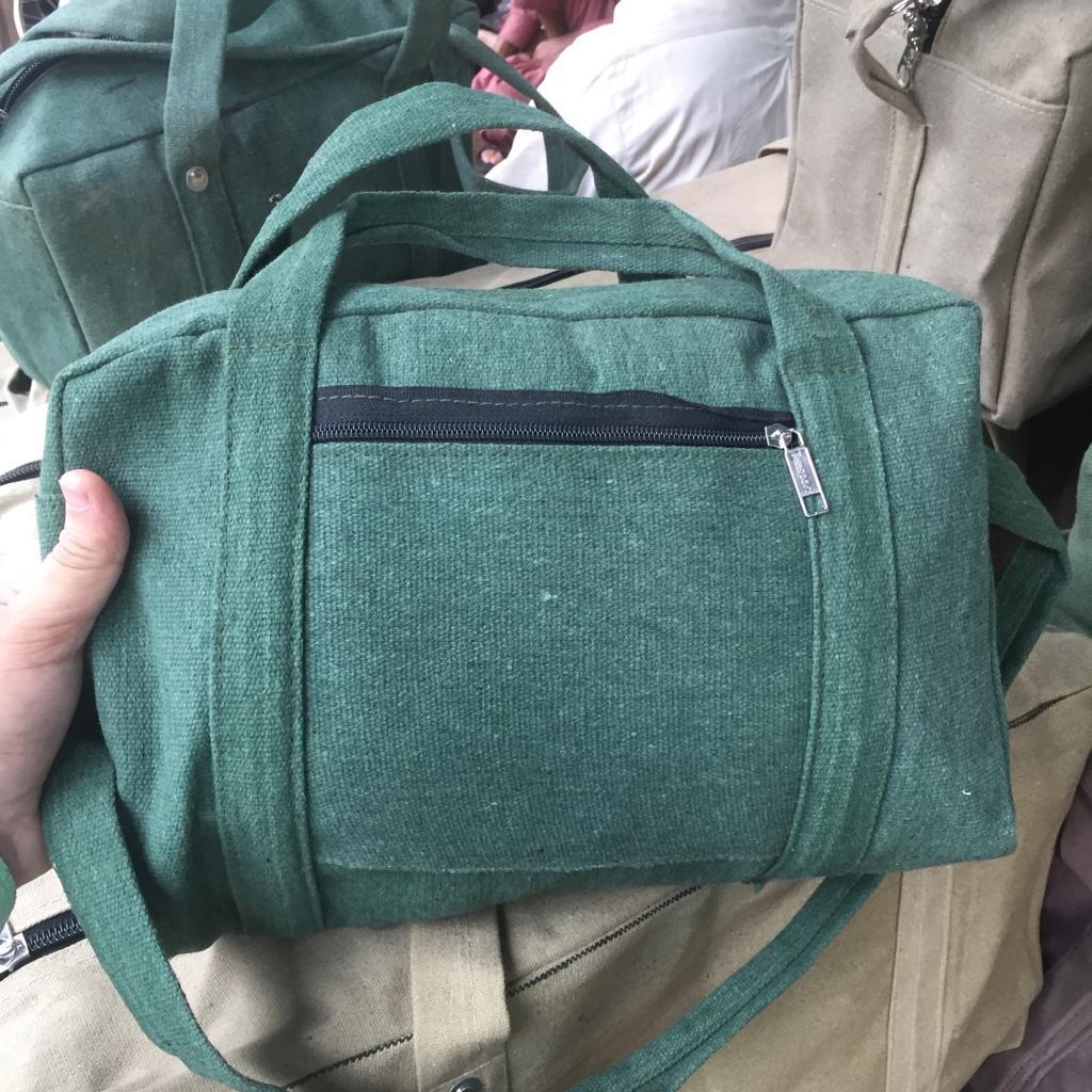 Portable Multi-function Canvas Bag Waterproof Storage Bag Hand Tool Bag Toolkit Case Tools Bag