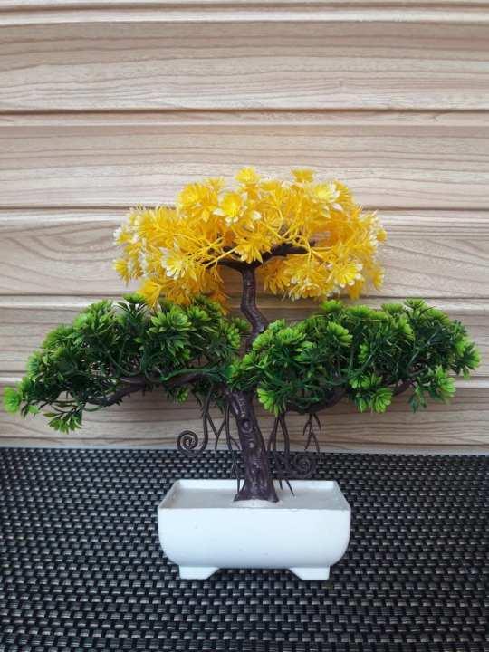 Imported Artificial Flower Bonsai Plants Decor Home Decoration