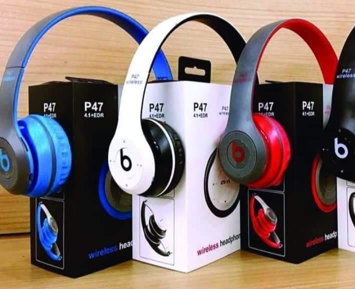 P47 wireless headphones