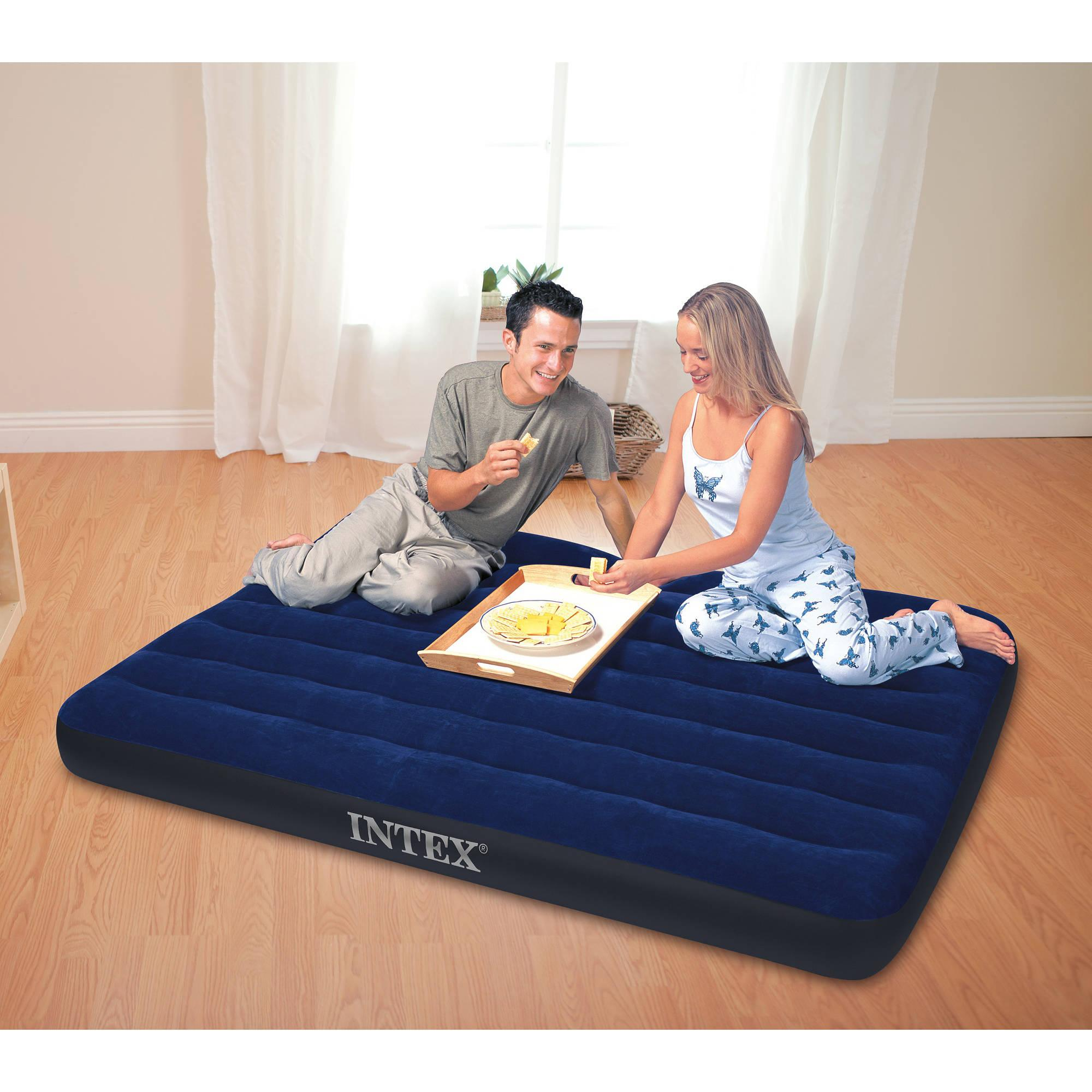 Intex Classic Downy Airbed Queen New