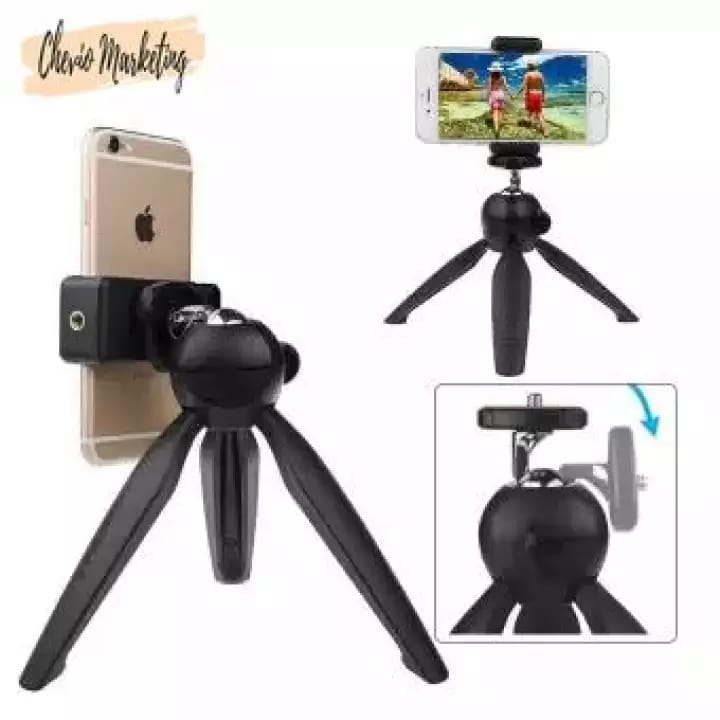 YUNTENG YT-228 Mini Tripod Stand Suitable for Smartphone, Digital Camera, and Gopro