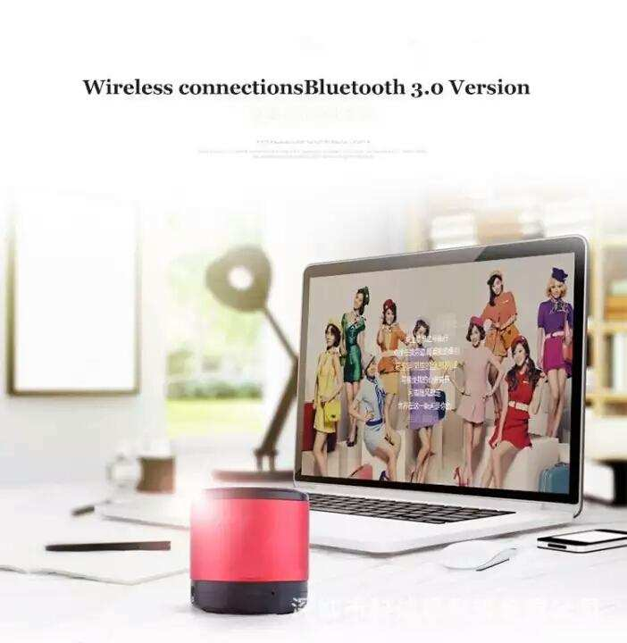 Portable Mini Bluetooth Speaker for Smartphones, Laptops and PCs