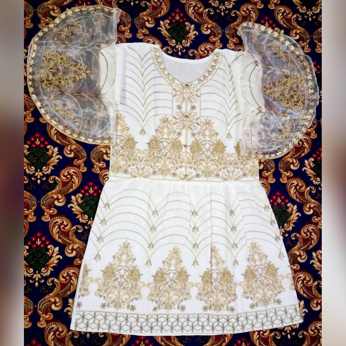 Womens ladies Girls kurta / Kurti Embroidery Pajama Dopata