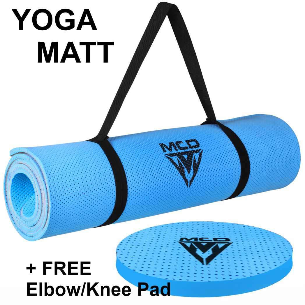 7 mm Thick, 6 feet (72 inches) Length, Almost 2 feet (23.4 inches) Width Yoga Mat, Non-slip surface Yoga, Eco Friendly Yoga Mat, Light Weight Yoga Mate, Home, Gym Workouts, Travel, Ideal for Women & Men, Moisture Resistance, Washable