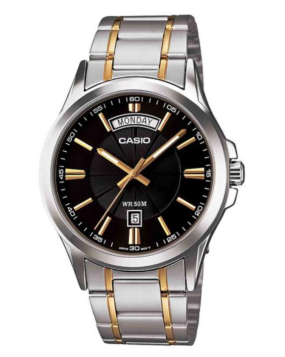 Casio - Mtp-1381g-1avdf - Stainless Steel Watch For Men