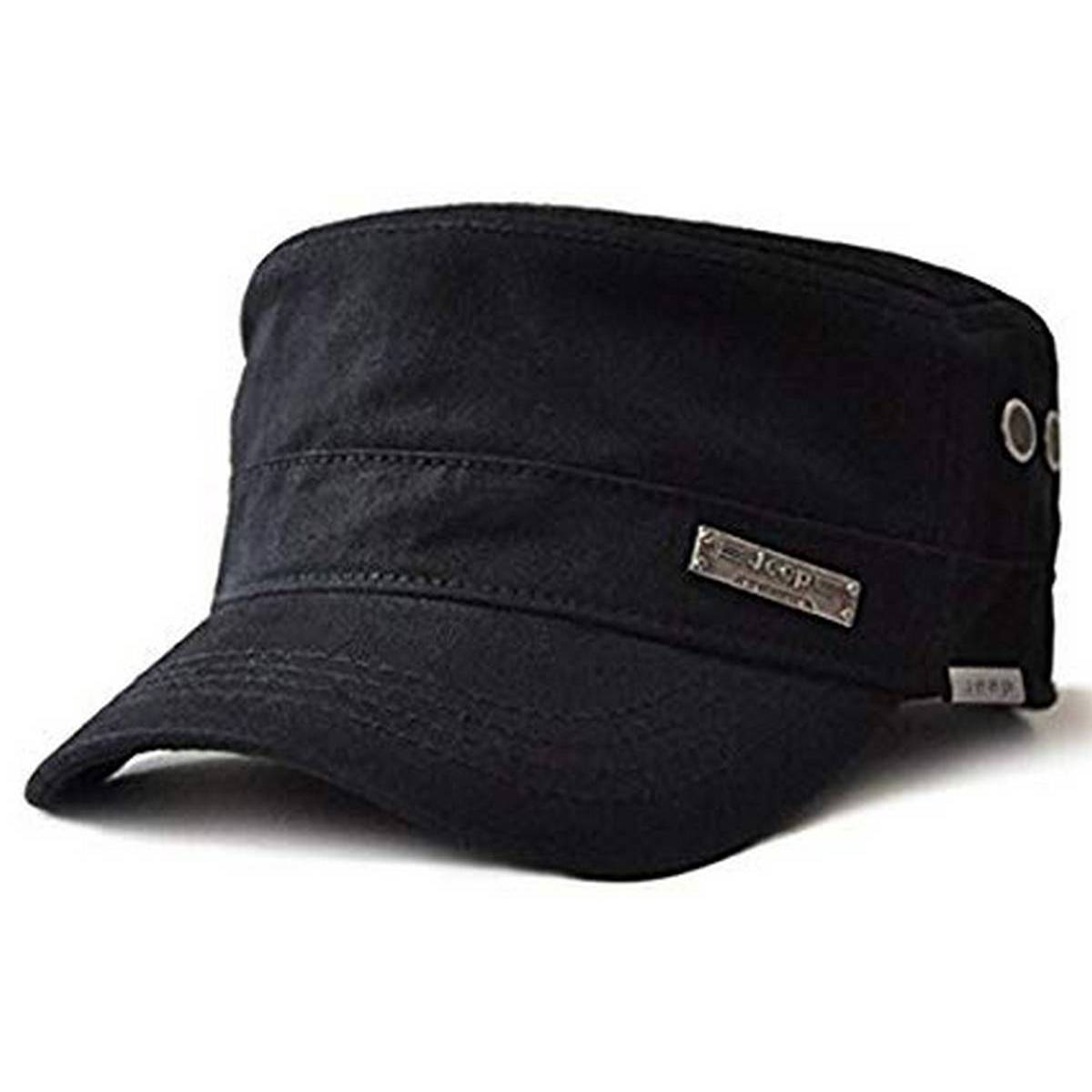 Military Style Jeep Army Flat Cap Vintage Baseball Cap Sport Sun Hat Color Family Coffee For MEN & WOMEN'S