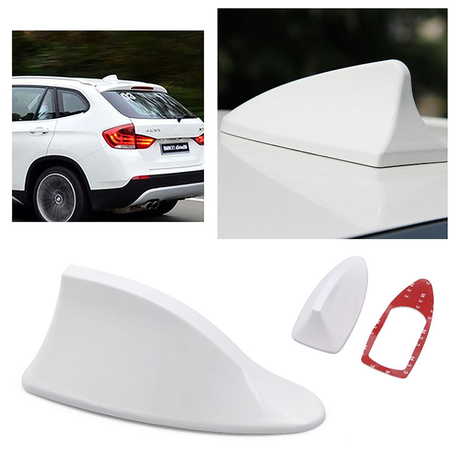 Shark Fin Style Roof Top Antenna - White