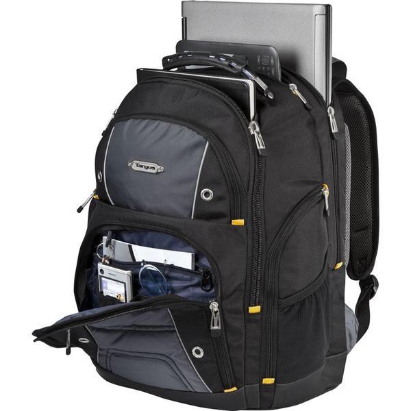 "Original Targus  16"" Drifter II Laptop Backpack (Black/Gray)"