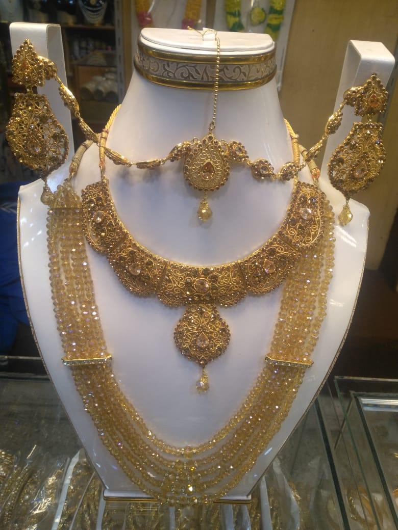 Indian Casting Set  Bridal Set  Gold