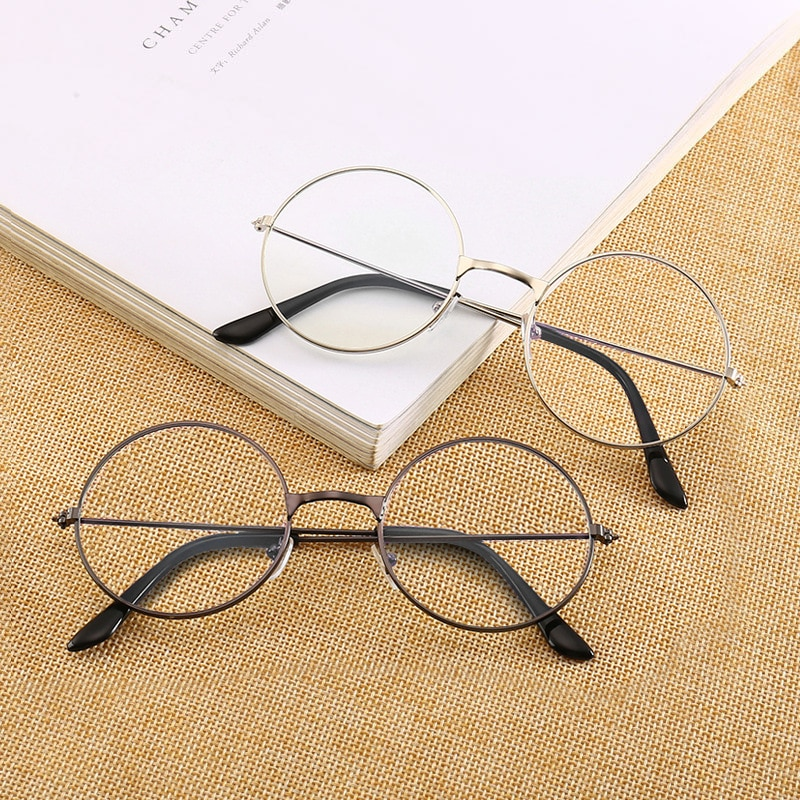 Round Silver Frame Harry Potter Sun Glasses for Girls and Boys
