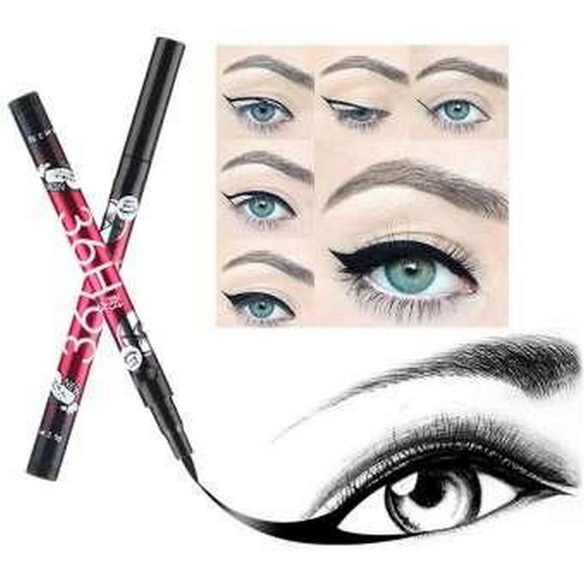 36 Hours Waterproof Black Eye Liner Pen Long Lasting Makeup Eyeliner Liquid Eyes Pencil Cosmetics