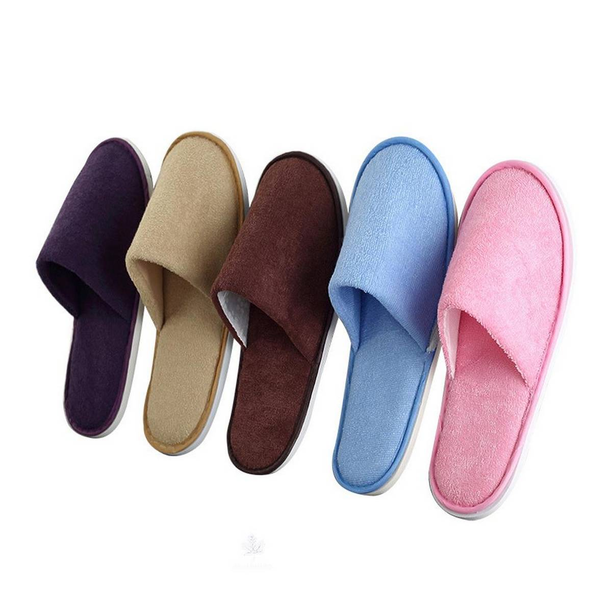 Soft Cotton Plush Slippers Cute Shoes Anti-Slip Indoor Floor Home House Furry Slippers Women Men Shoes For Bedroom