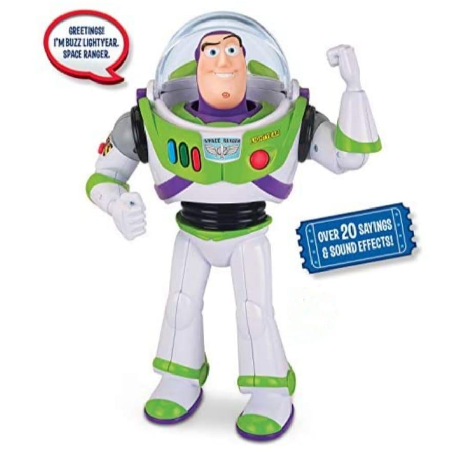 Toy Story 5 True Talkers Buzz Lightyear Action Figure