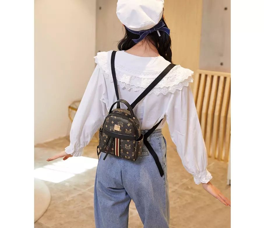 High Quality Fashion Mini Backpack And Cross Body Bag.
