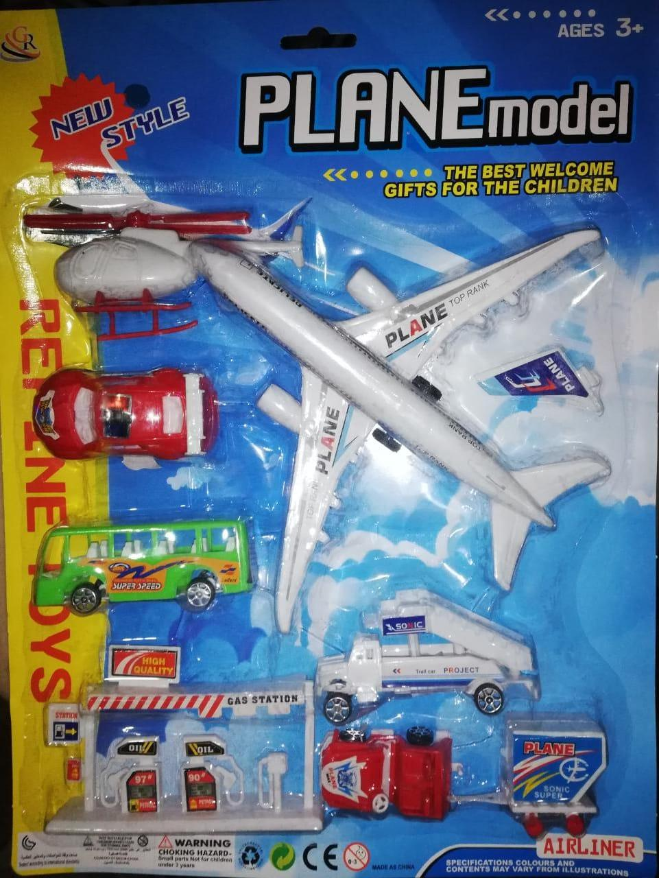 Plan Model (Airport Set) Toy for Kids