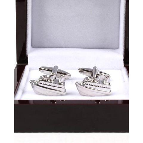 Cufflink Multiple Pairs Tone Classy Stylish Men's Cuff Links With Elegant Gift Box by Fast Forward