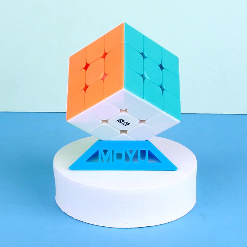 Best Quality Qiyi Warrior S Rubiks Cube 3x3-Stickerless Magic Speed Cube,Original Rubiks Speed Cube,Magic Puzzle Toy