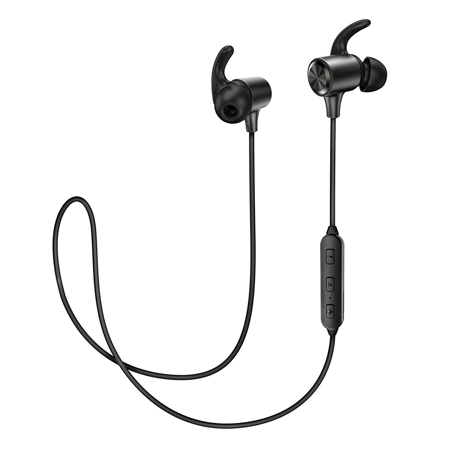d998214c2e1 Wireless Bluetooth 4.2 Magnetic Headphones Earphones Sport Earbuds  Sweatproof aptX ANC