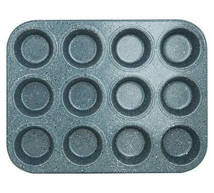 Cupcake Baking Tray - Grey